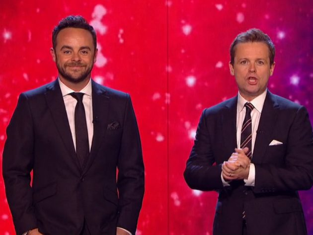 Will Ant McPartlin Won't Be Able To Presenter Britain's Got Talent