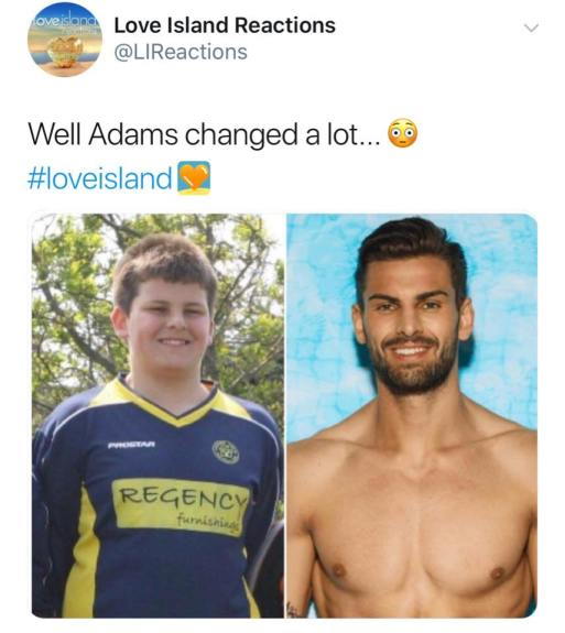 Love Island Fans Are Shocked At How Much Adam Collard Has Changed Over The Years