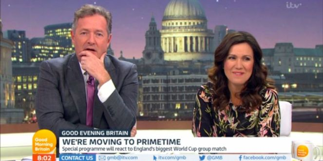 Piers Morgan and Susanna Reid To Host Evening Show Good Evening Britain