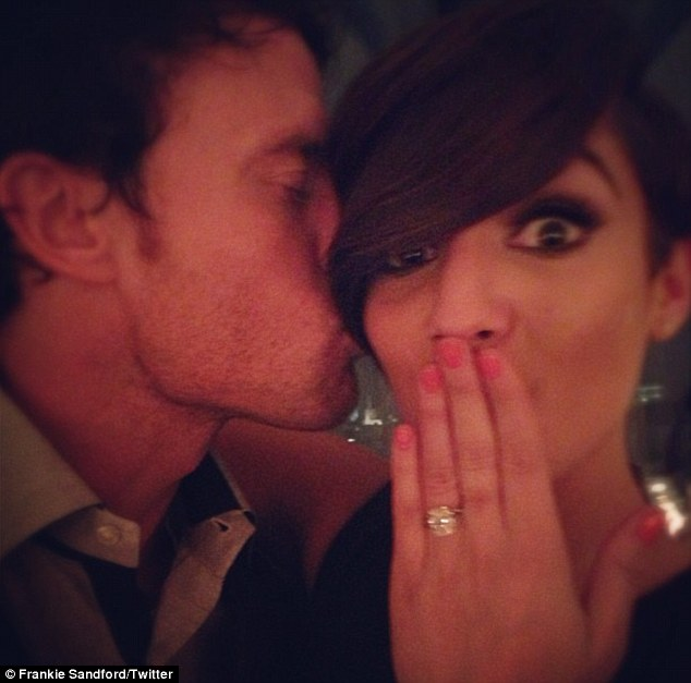 frankie bridge engament ring