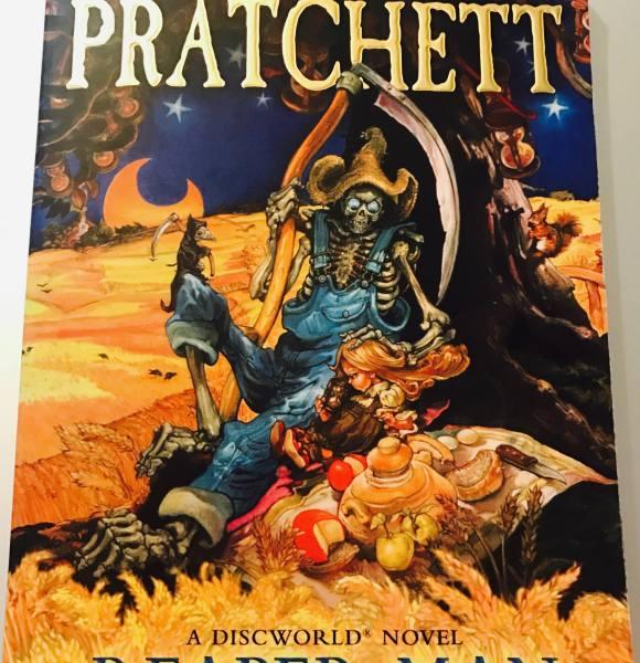 Reaper Man – Terry Pratchett | Blogmas 2017 #17 | HOLIDAYADVENTUREATHON
