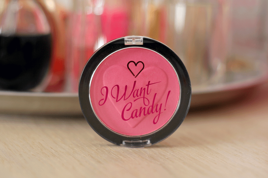 I Heart Makeup I Want Candy Blush Wow