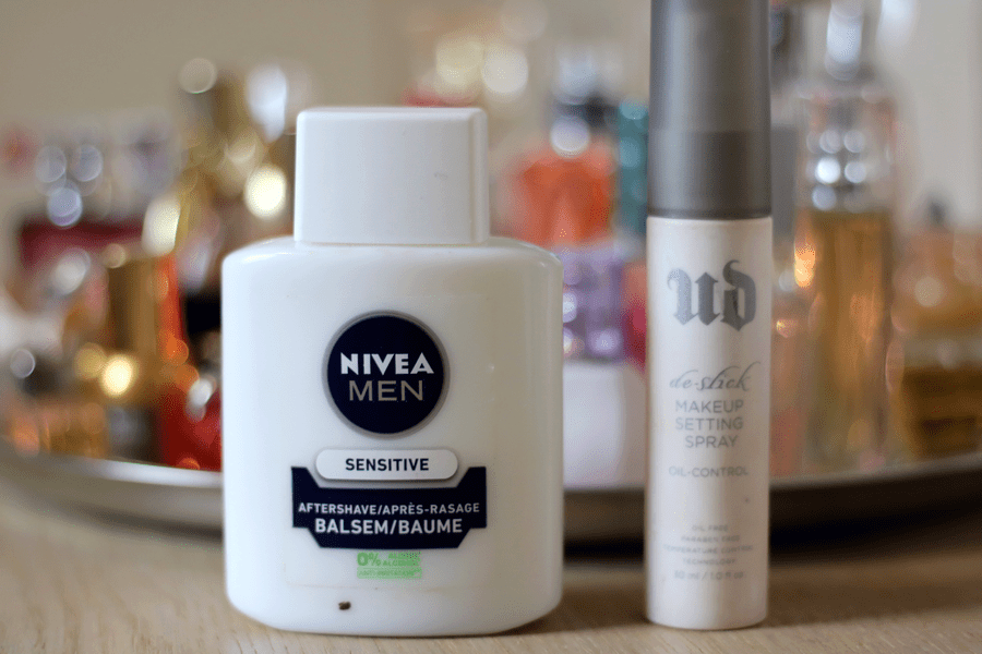 Nivea Man Post Shave Balm & UD Setting Spray
