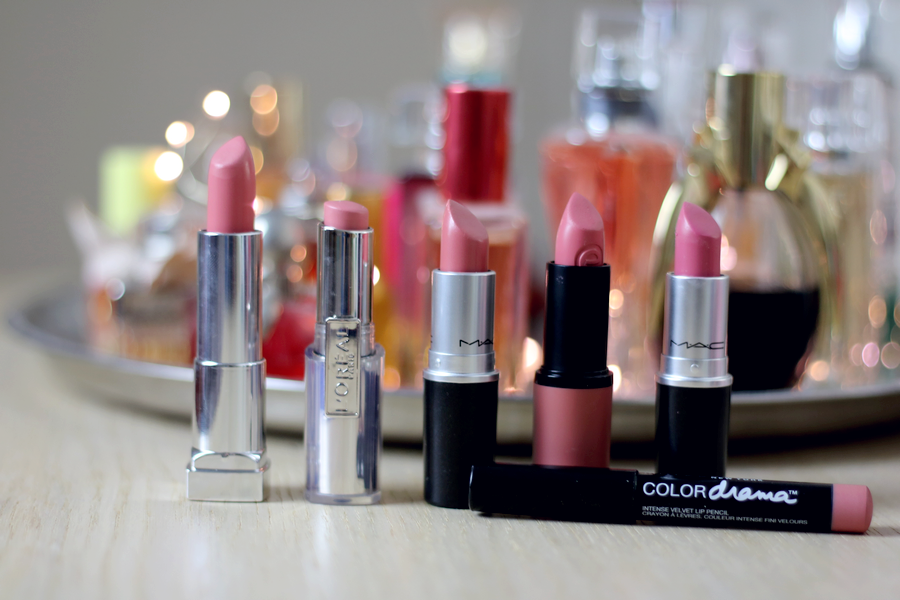 Favourite Pink Lipsticks