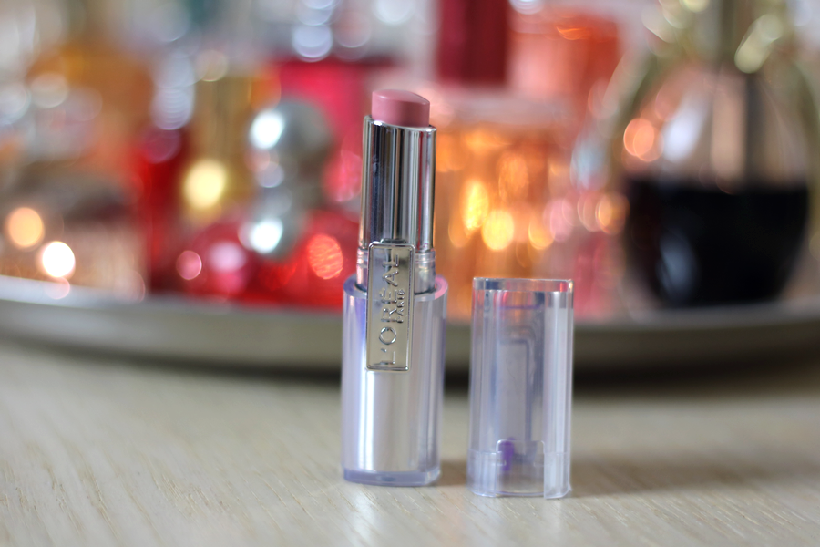 L'Oreal Rouge Caresse Innocent Pink Lipstick Pack