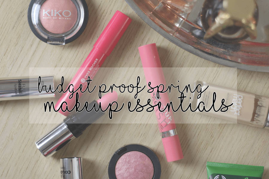 Budget Proof Spring Makeup Essentials