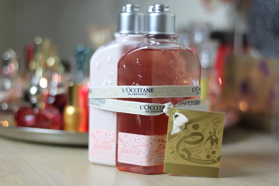 L'Occitane Shower Gel & Body Lotion