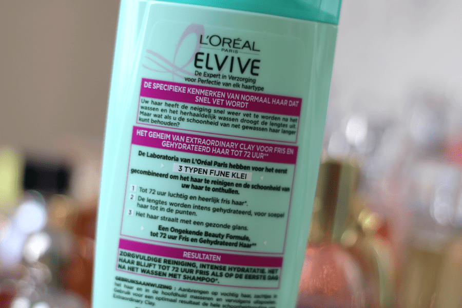 L'Oreal Elvive Extraordinary Clay Shampoo & Conditioner