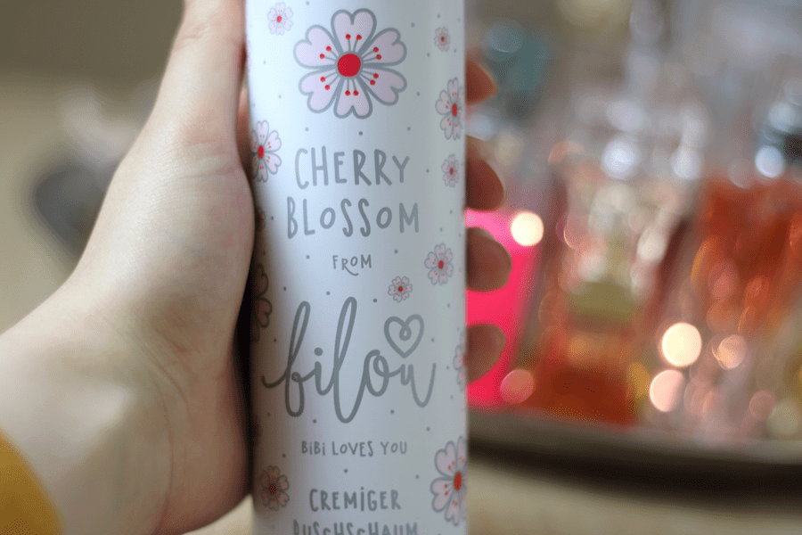 Bilou Cherry Blossom Shower Foam Design