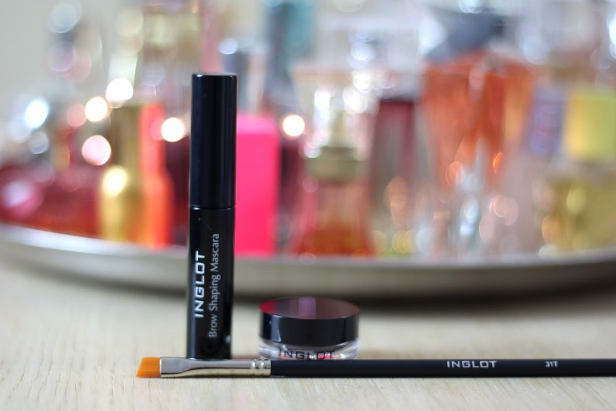 Inglot Brow Gel and Pomade and Brush