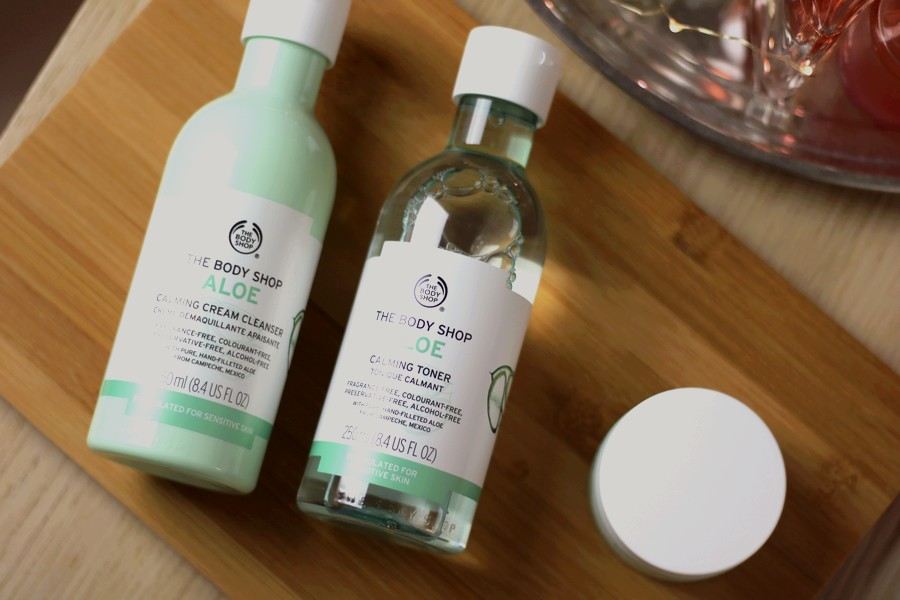 The Body Shop Aloe Calming Skincare Products Nicolished