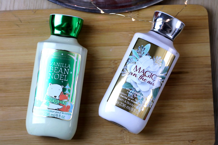 Bath & Body Works Body Vanilla Bean Noel & Magic In The Air Body Lotions