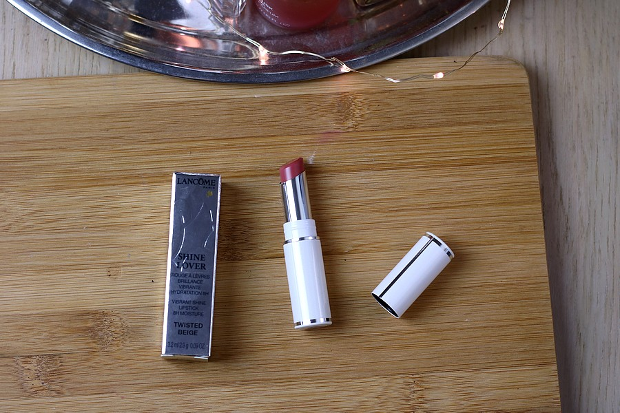 Lancome Shine Lover Lipstick in Twisted Beige