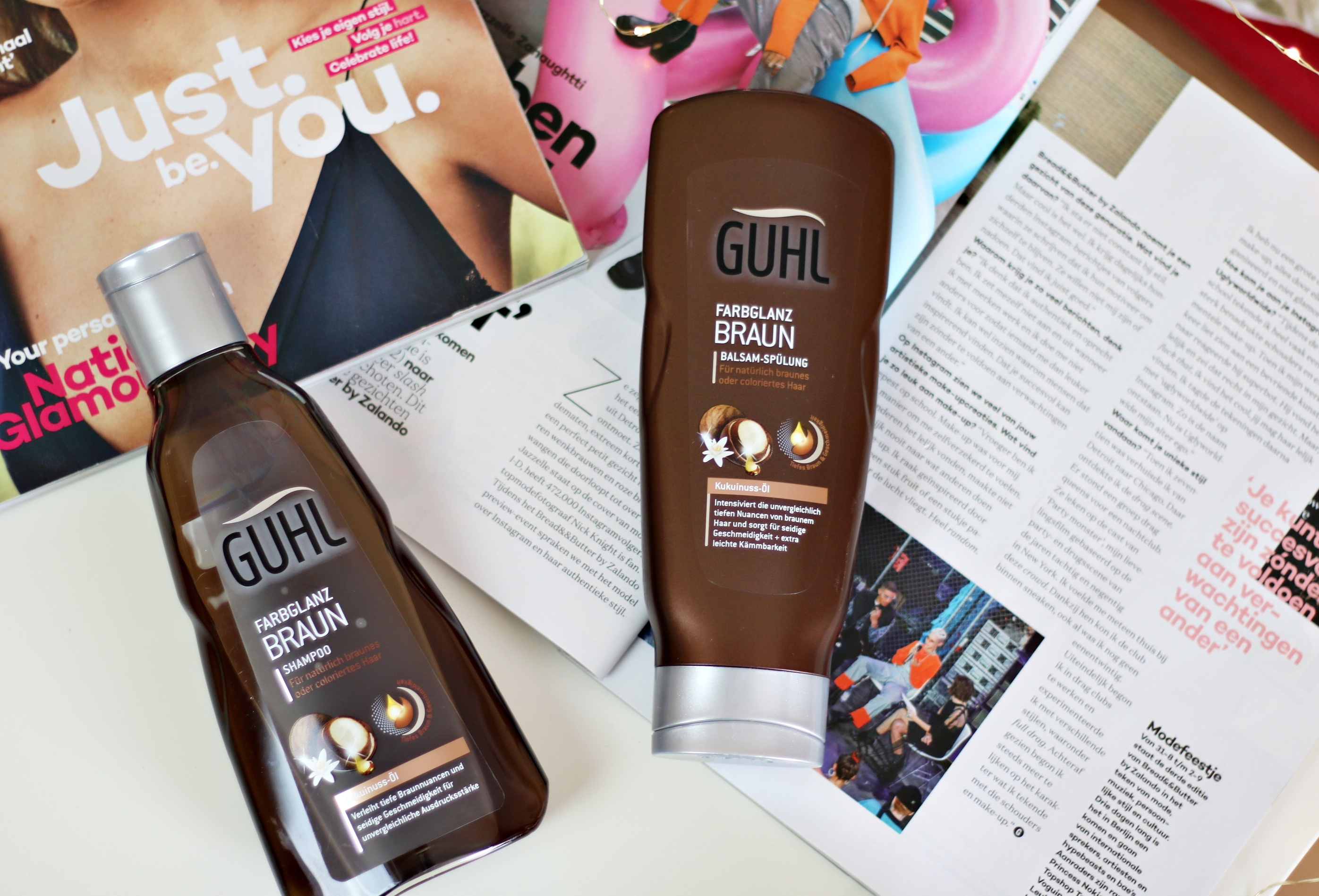 Making The Most Of Your Shiny Brown Hair With The Guhl Shampoo & Conditioner For Brown Hair!