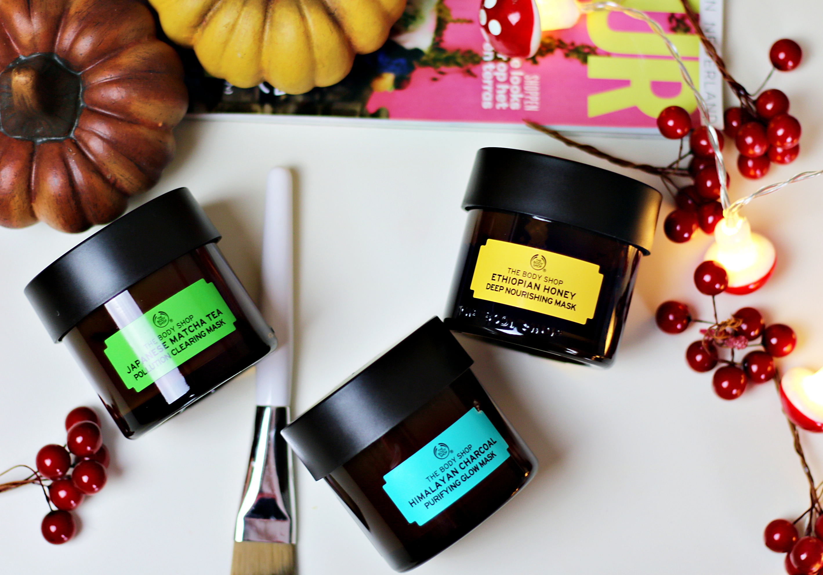 Mask It Up: 3x The Body Shop Face Masks