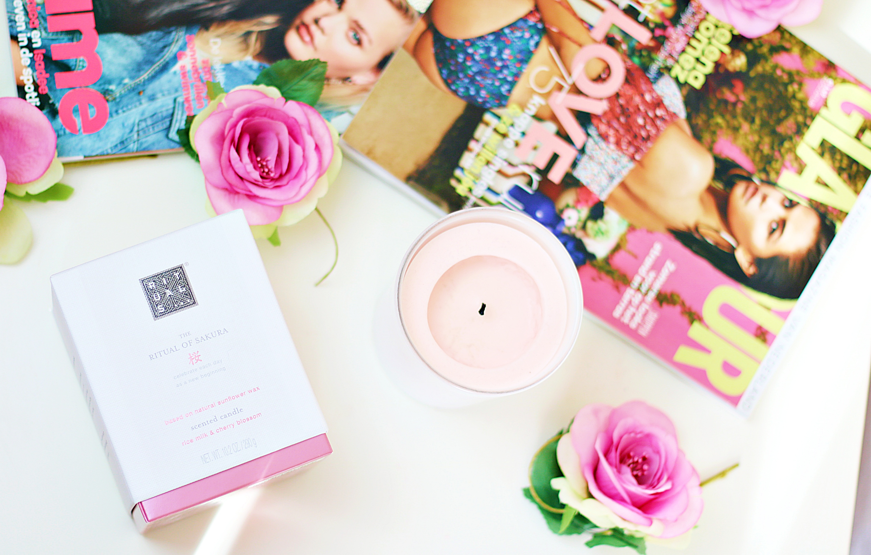 Fragrance Your Room With The Rituals The Ritual Of Sakura Scented Candle