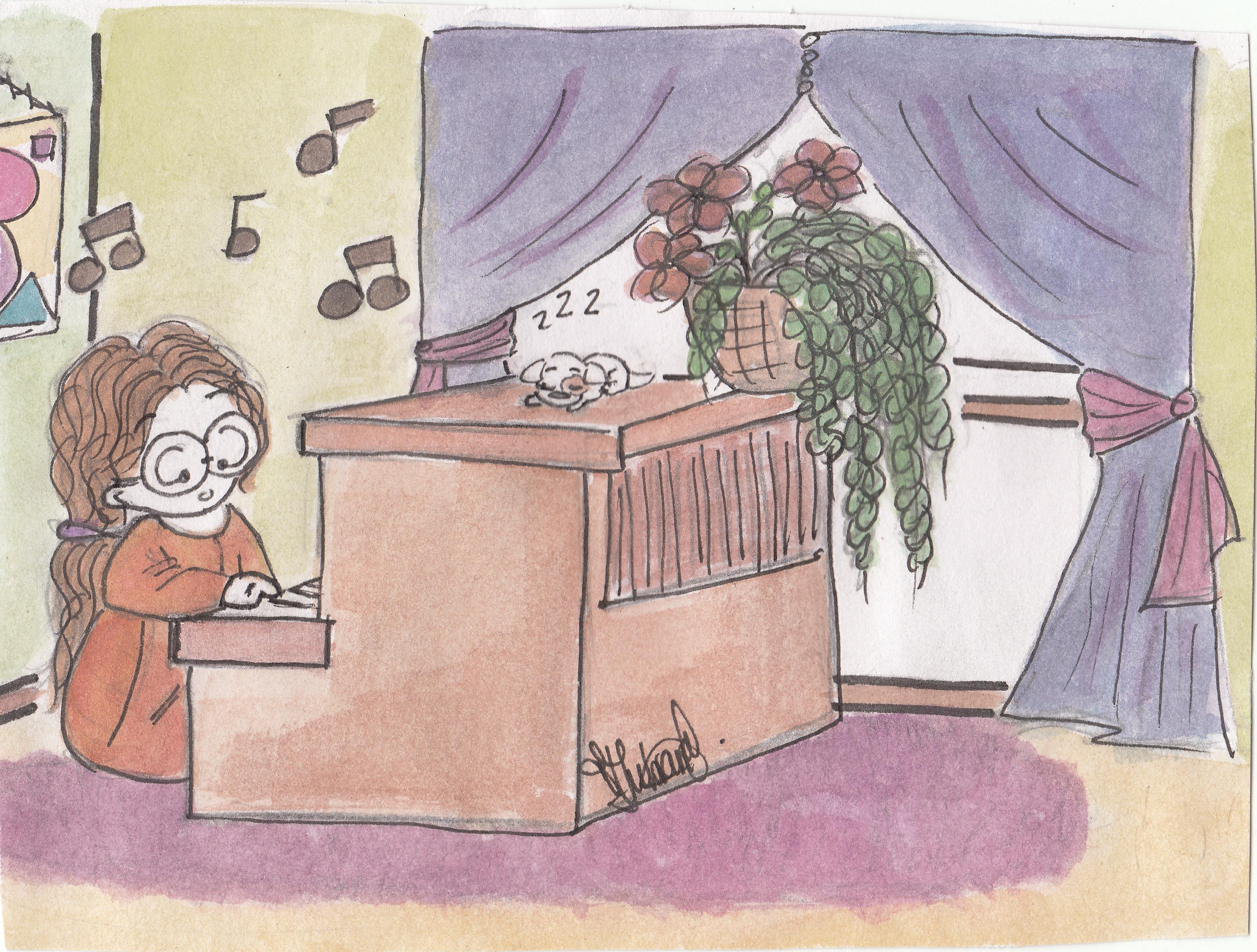 tahira_Nicole & piano