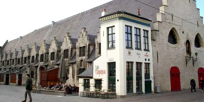 Kleinstes Lokal in Gent - Flandern Rundfahrt