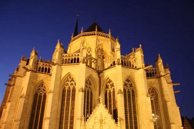 Sint-Pieterskerk in Leuven - Flandern Rundfahrt