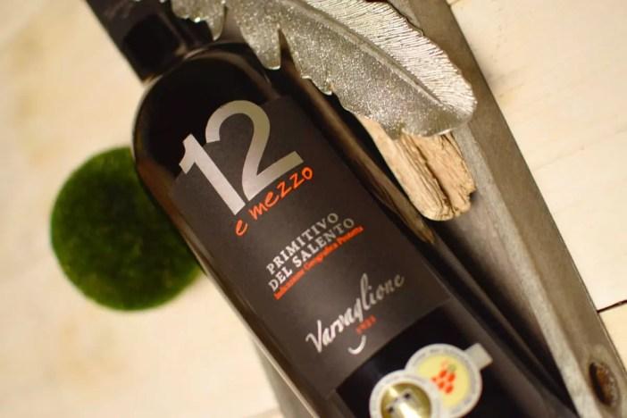 Varvaglione-12-e-mezzo-Primitivo-del-Salento-etikett