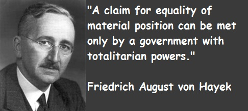 Citations pour 2013 : Friedrich Hayek