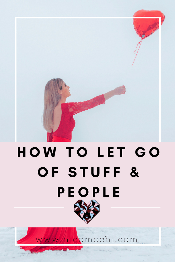 There are some things that you will encounter in your life that may have served an important purpose in your life once, but no longer serve any purpose (or worse – serves to bring you down). It's time to let go of these influences in 5 steps. #mentalhealth #lettinggo #selflove #selfcare