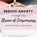 Reduce Anxiety through Stream of Consciousness Writing