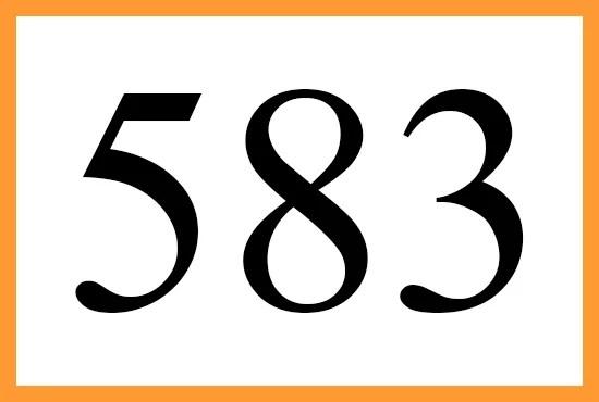 angelnumber583