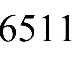 6511のエンジェルナンバーの意味
