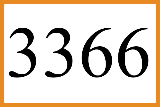 エンジェルナンバー3366の意味について