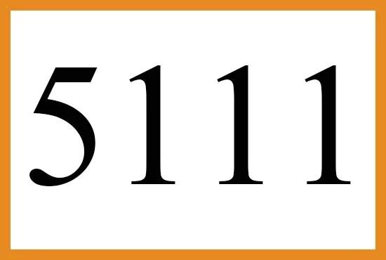 5111のエンジェルナンバーの意味