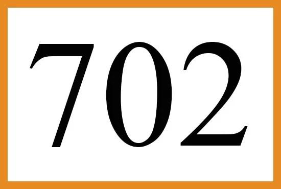 エンジェルナンバー702の意味について