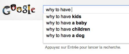 Influer sur l'autocomplete de Google