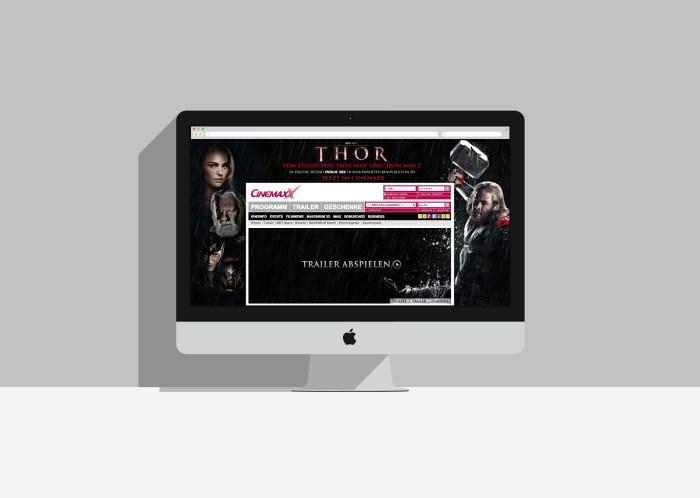 CinemaxX Website