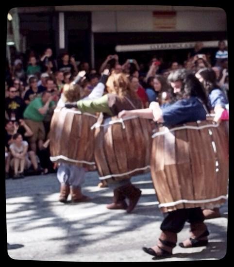 Hobbits in Barrels!