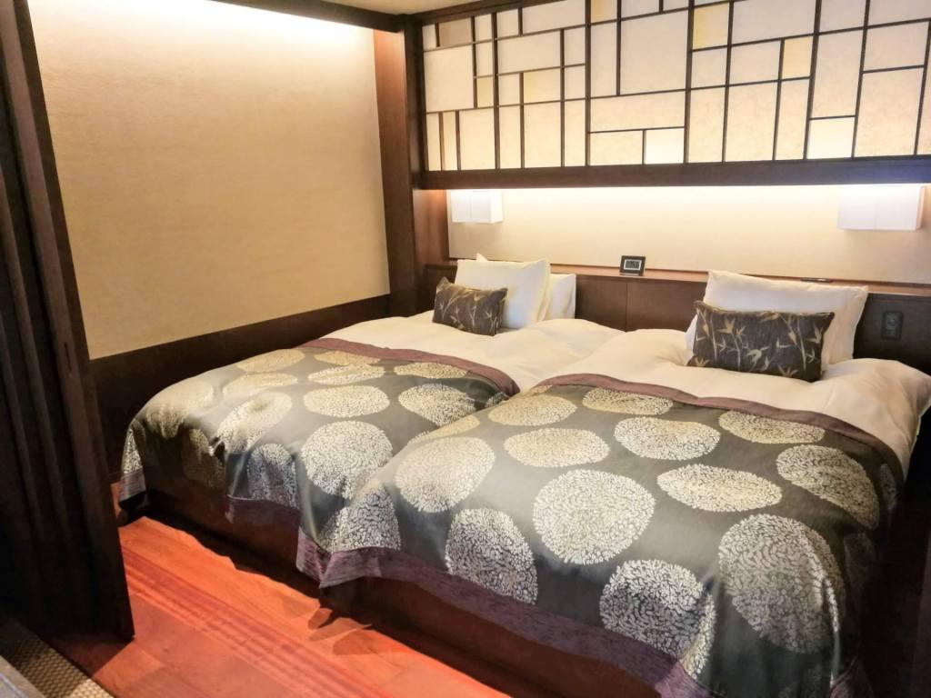 大谷山荘 寝室