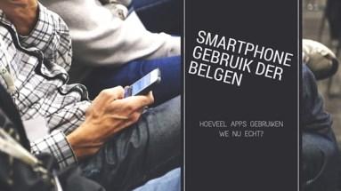 Smartphone gebruik der Belgen