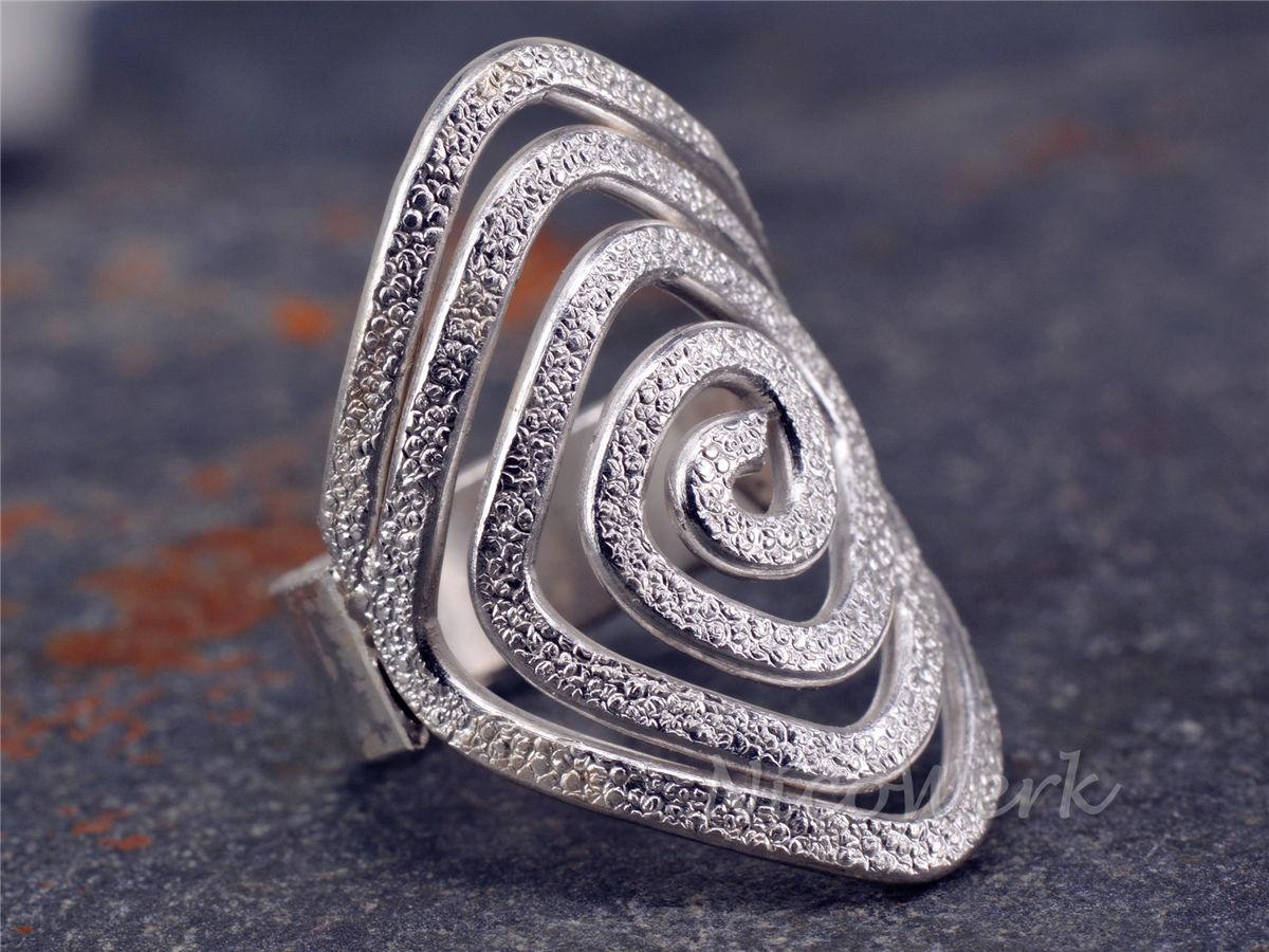 NicoWerk Silberschmuck  Silberring Spiral  online kaufen