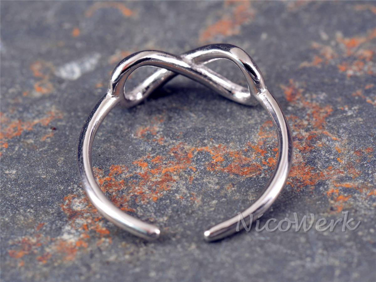 NicoWerk Silberschmuck  Silberring Unendlichkeit  online kaufen