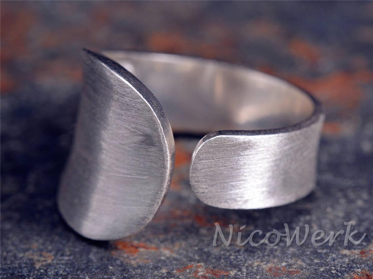 NicoWerk Silberschmuck  Silberring Schlicht  online kaufen