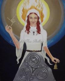 Saint Brigid Nic Phillips Sacred Art