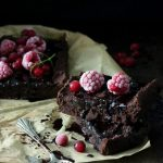 Wegańskie brownie z fasoli bez cukru bezglutenowe