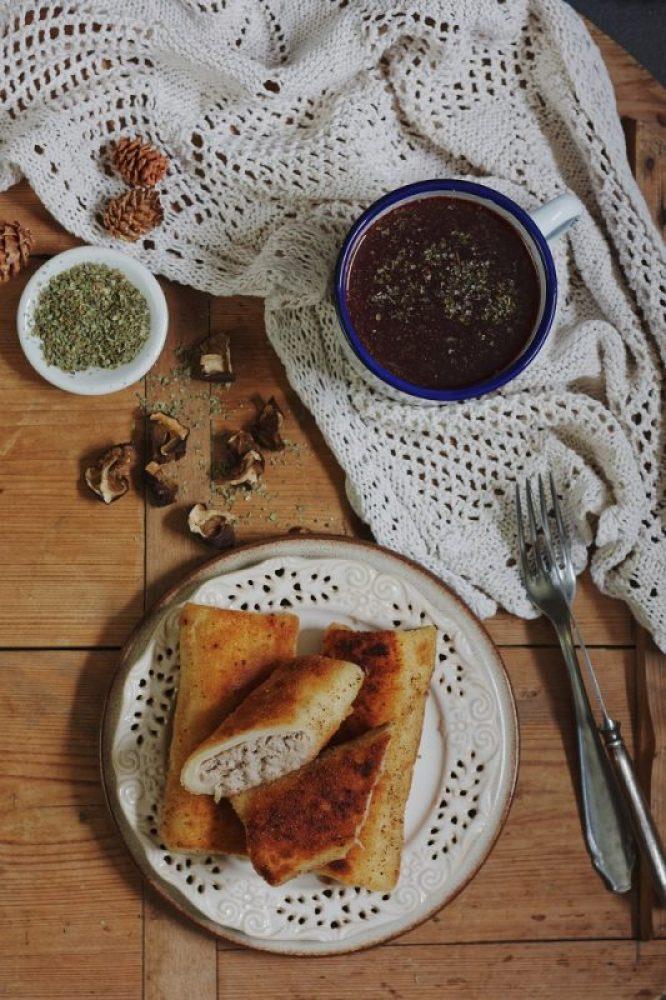 Krokiety z mięsem bez jajek i bezglutenowe