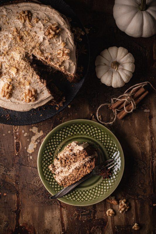 Ciasto z dyni tartej surowej