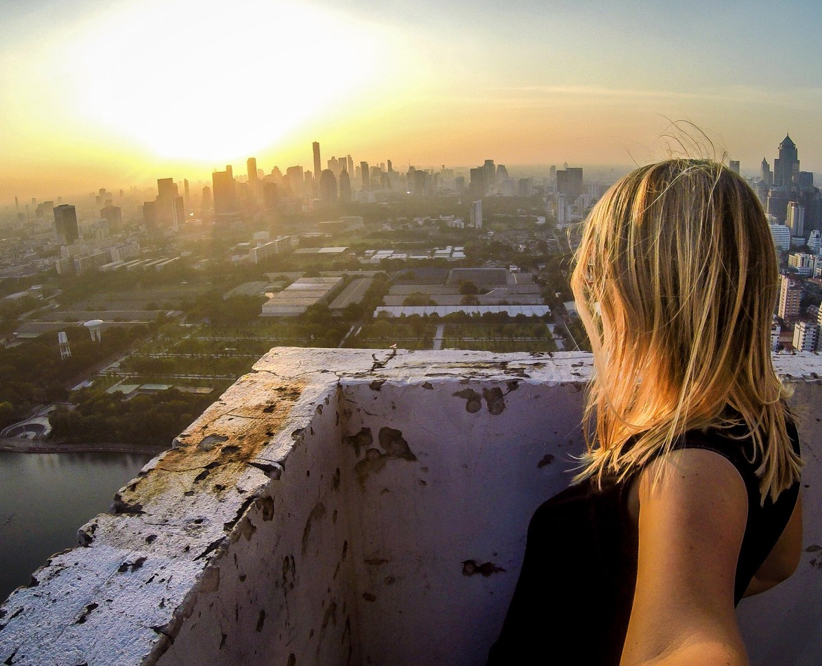 How I illegally climbed on one of Bangkok's highest rooftops