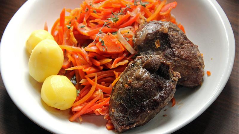joues de porc mijot 233 es aux carottes suries 224 l orange ni cru ni cuit