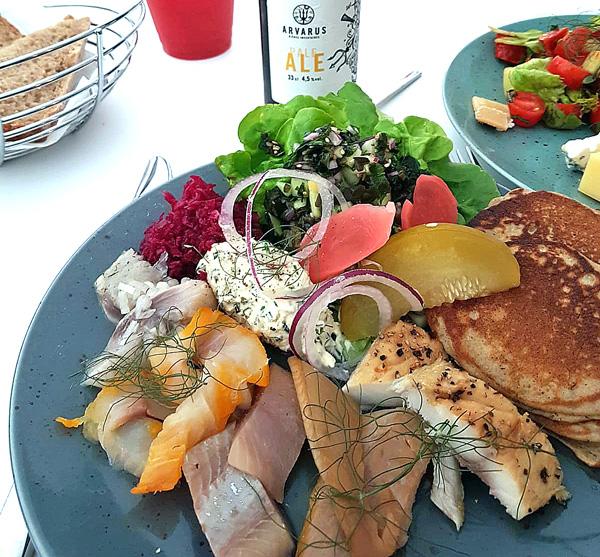 assiette océane du restaurant SURI, 108 rue Réaumur, 75002 PARIS