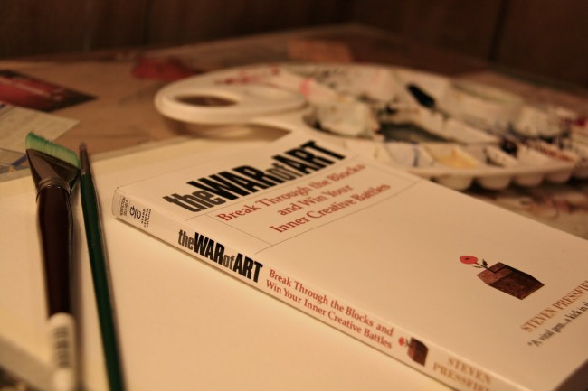 Steven Pressfield, The War of Art