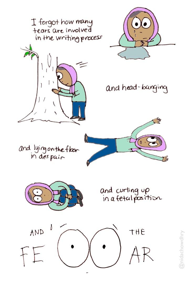 writing process creativity doodle nida chowdhry