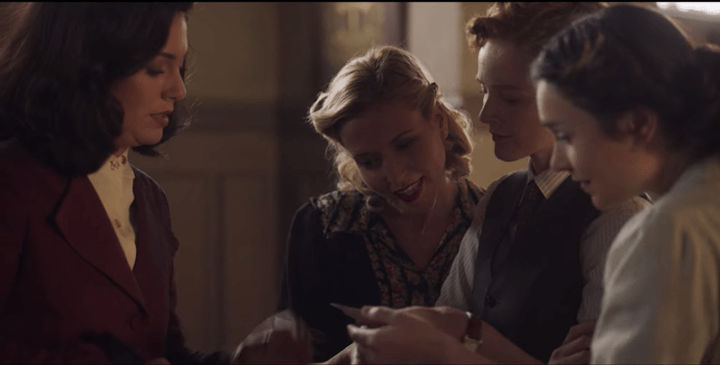 Las Chicas Del Cable Season 5 Part 1, Cable Girls, Netflix, Lidia, Marga, Carlota, Oscar, all together